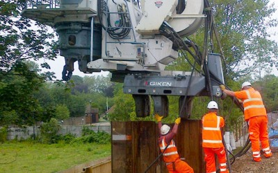 J N PILING- A406 Photo Update and NEW CONTACT DETAILS