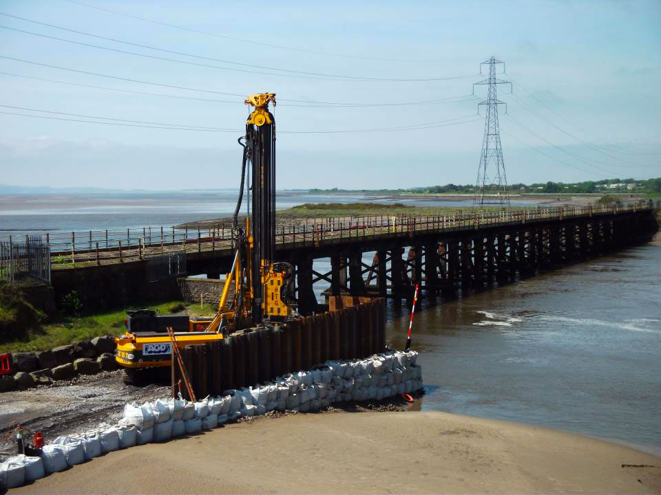 River Loughor viaduct replacement
