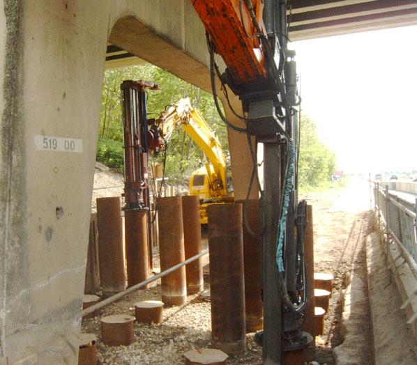 Bearing Piles King Post Walls J N Piling