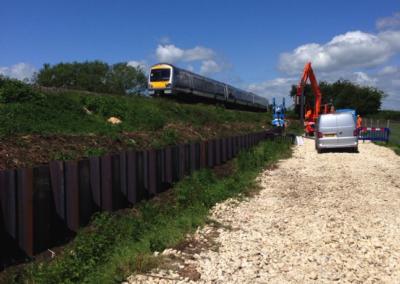 Bridge Farm Embankment Stabilisation