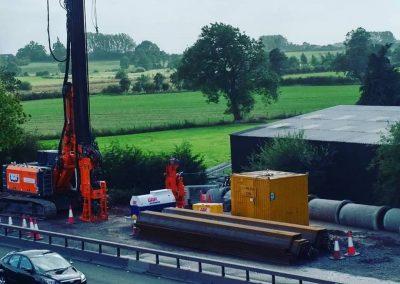 M6 Junction 13-15 Smart Motorway Project