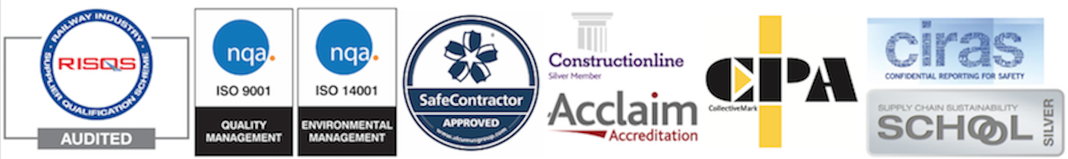 Accreditations held by J N Piling